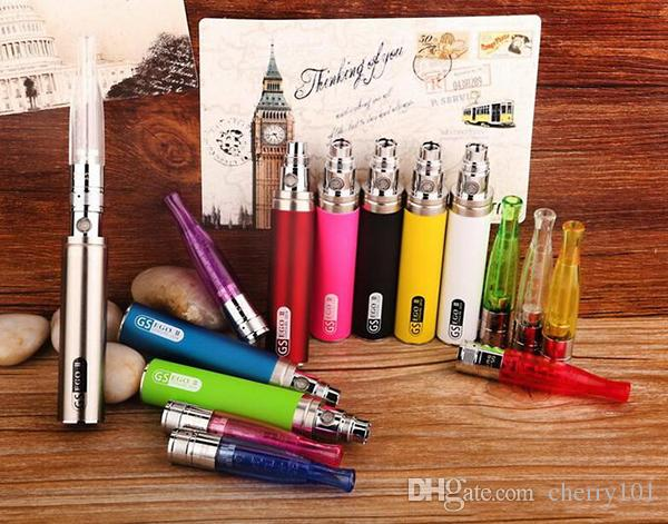 Aothentic GS EGO II MEGA KIT with Ego II 2200mah battery&Lumia Edit with 1.5ml GS H2S clearomizer in gift box