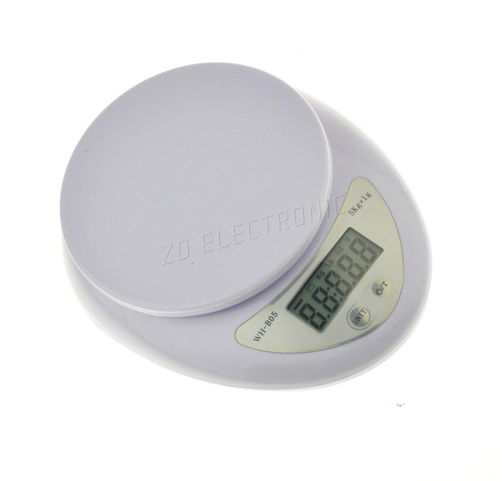 electronic kitchen scale 5kg 1g grams oz lb 5000g postal scale
