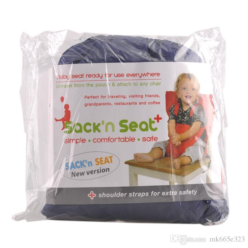 Candy Colors Baby Portable Seat Cover Sack'n Seat Child Safety Seat Cover infant Upgrate Toddler Eat Chair Seat Belt