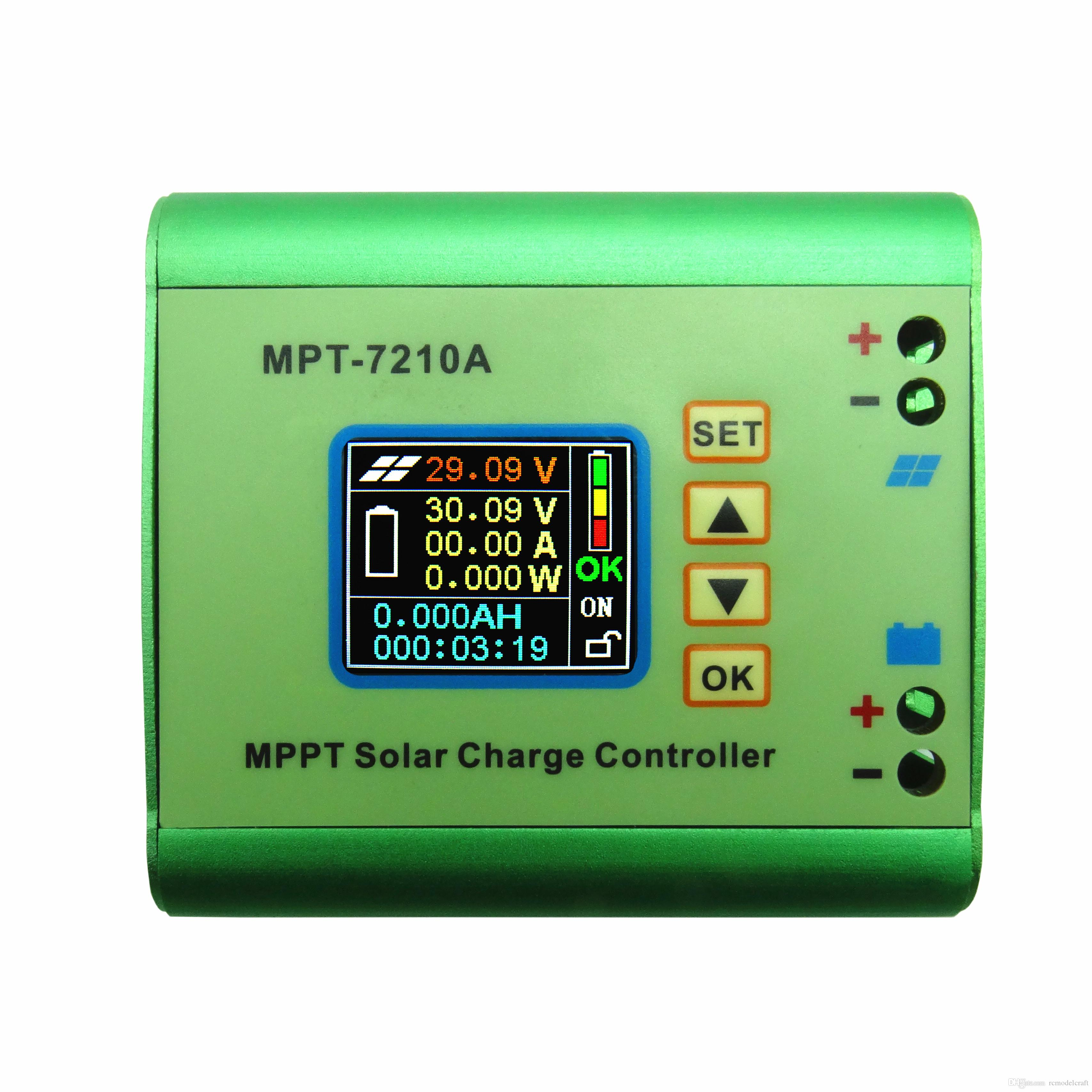 Mpt 7210a 10a Dc12 60v Mppt Solar Panel Charge Controller Picture Of Battery Charging Accommodate Dc Power Max600w 24v 36v 48v 72v Air Breeze Wind Turbine