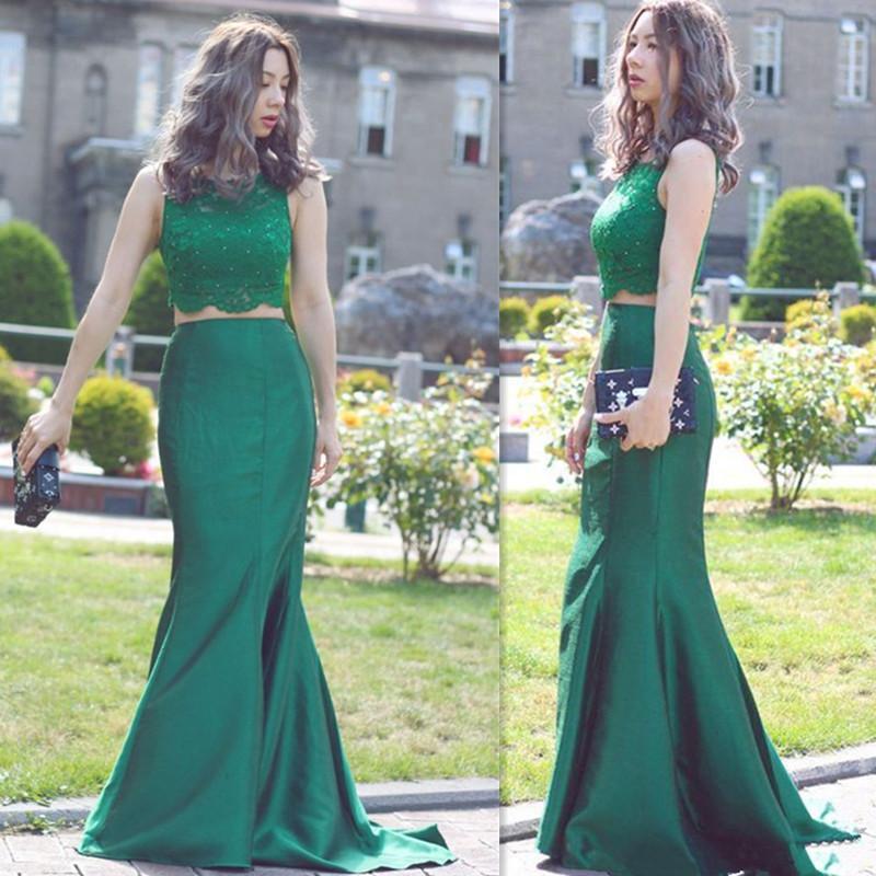 Emerald Prom Dresses 2018 72