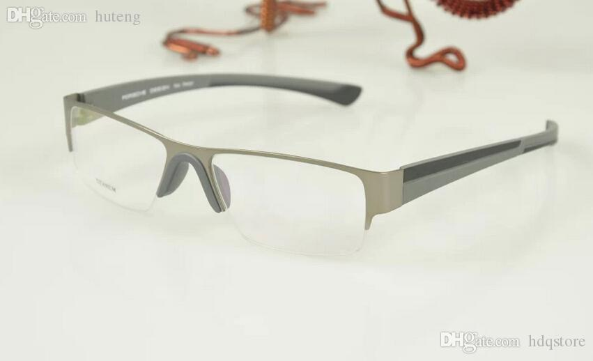 f3f41372b6 2019 Wholesale 2016 Rushed New Design Name Brand Pure Titanium P9108 Myopia Eyeglasses  Frames Optical Eye Glasses Men Eyewear Oculos De Grau From Hdqstore