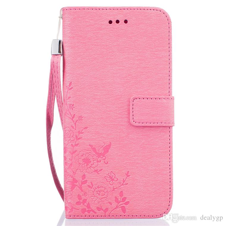fashion flower printing leather wallet case protective flip standfashion flower printing leather wallet case protective flip stand phone cover for iphone 7 7 plus cell phones cases custom cell phone case from dealygp,
