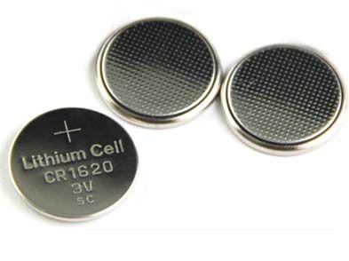 / baterias tipo botão fresco CR1620 3v Lithium 100% Card / Blister Embalagem células Coin