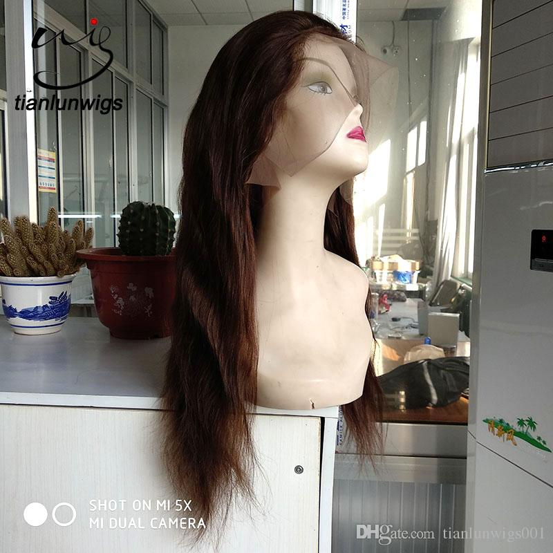 Горячие продукты на продажу натуральный скальп парик 180 плотность волос полный парик шнурка парик фронта шнурка, небольшое количество заказать фронт парик шнурка