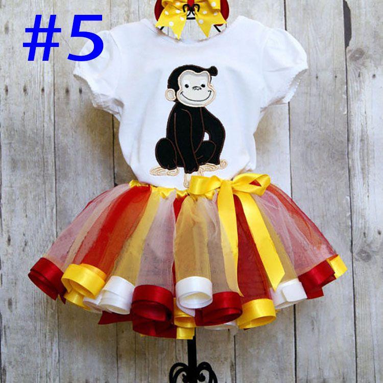 Bambini Rainbow Tutu Abiti Bambini Neonato Pizzo Principessa Gonne Pettiskirt Balletto Dancewear Gonna Abbigliamento Party Spedizione Gratuita WX-D16