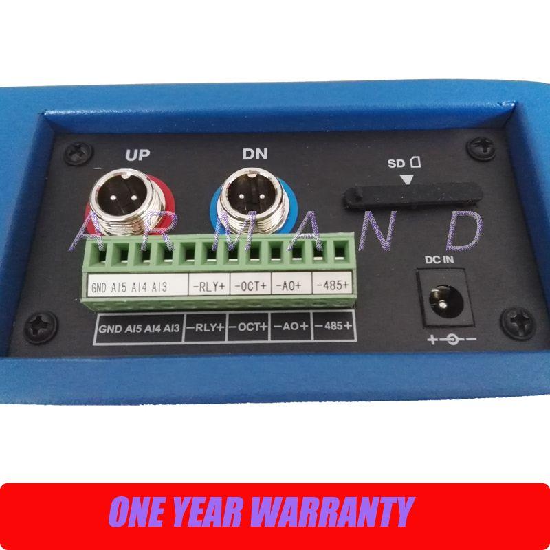 Digital Ultrasonic Flowmeter Portable Liquid Flow Meter built-in printer TUF-2000P DN50-700mm TM-1 Transducer