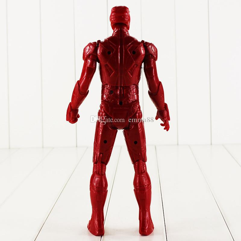 29cm Super Heros Iron Man Tony Stark PVC Action Figure Collectable Model toy for kids Christmas gift EMS