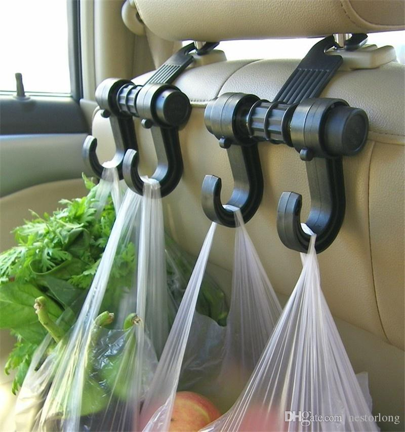 hot sale Car Hanger Auto Bags Organizer Hook Accessories Holder Clothes Hanging Holder Seat Help car-styling