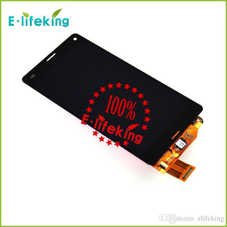 LCD Ekran dokunmatik ekran digitizer Meclisi Ile Sony Z3 Mini Kompakt D5803 D5833 LCD Ücretsiz kargo