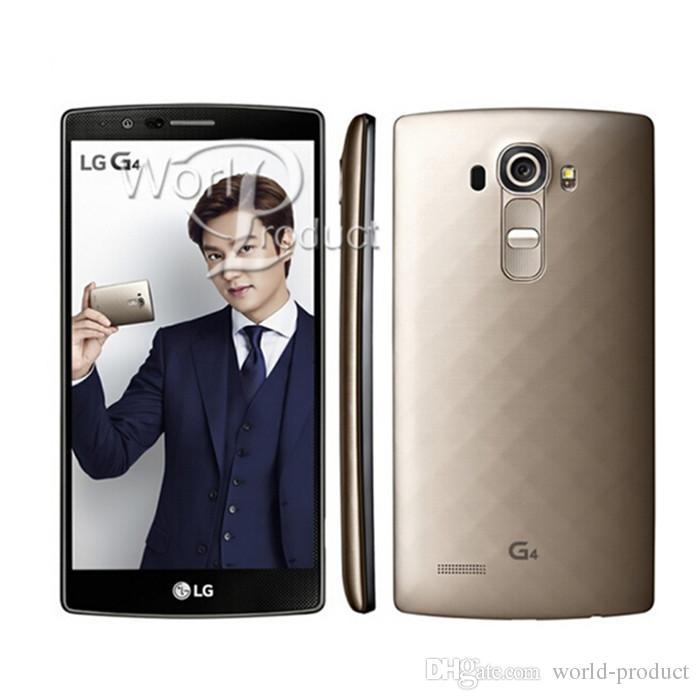 5.5 pouces LG G4 remis à neuf d'origine Smart Phone H815 H810 3 Go / 32 Go Hexa Core 16MP appareil photo Andriod OS débloqué téléphones portables