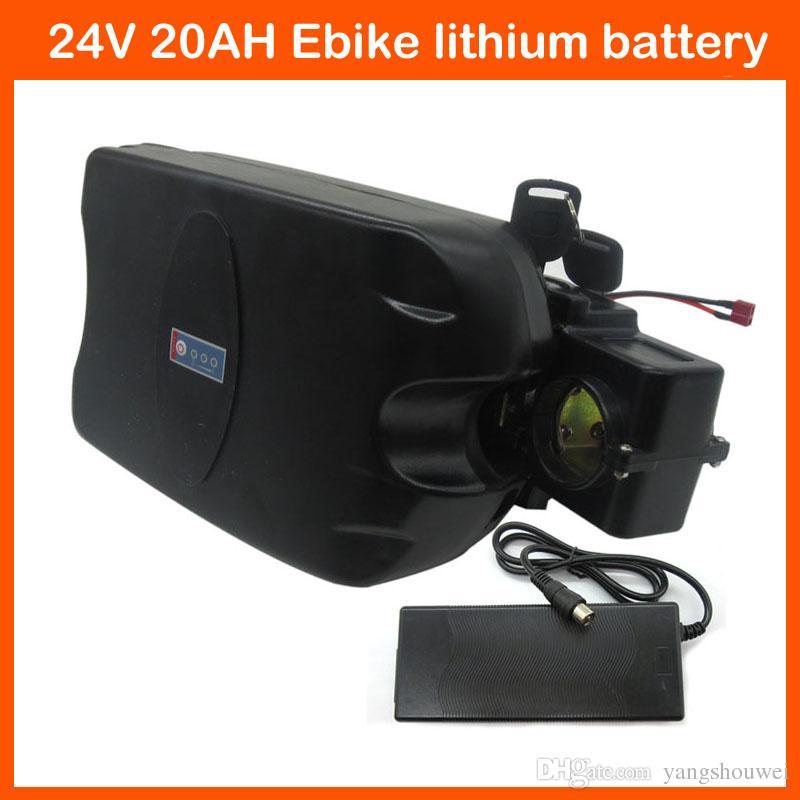 24 V pil 24 V 20AH elektrikli bisiklet Lityum iyon ebike kurbağalar pil paketi ile 30A BMS 29.4 V 3A şarj