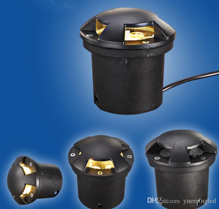 New IP68 Waterproof 6W Warm Cold White AC85-265V LED Outdoor Ground Garden Path Floor Underground Buried Yard Lamp Spot Landscape Light