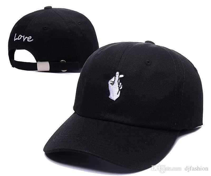 84b2ed505e9 Good Quality Kpop Snapback Caps Men Cotton LOVE Gesture Hip Hop Cap  Adjustable Gorras Baseball Cap Mens Hiphop Polo Hat Flexfit Hats For Men  From Djfashion