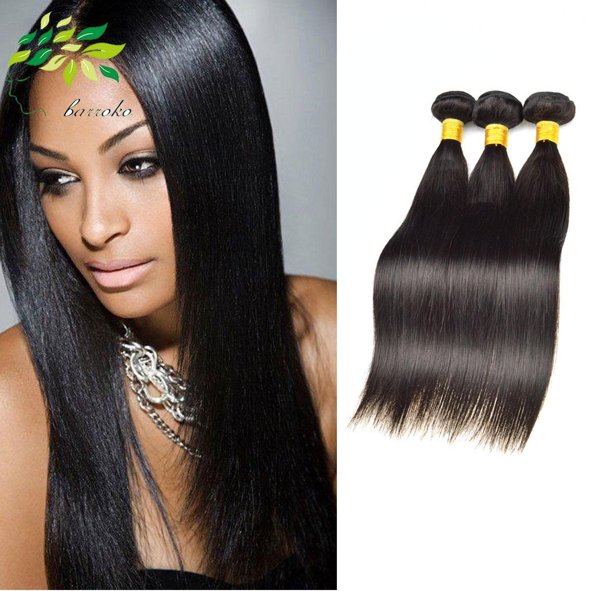 Brazilian Straight Virgin Hair Bundle Deals Best Thick Hair