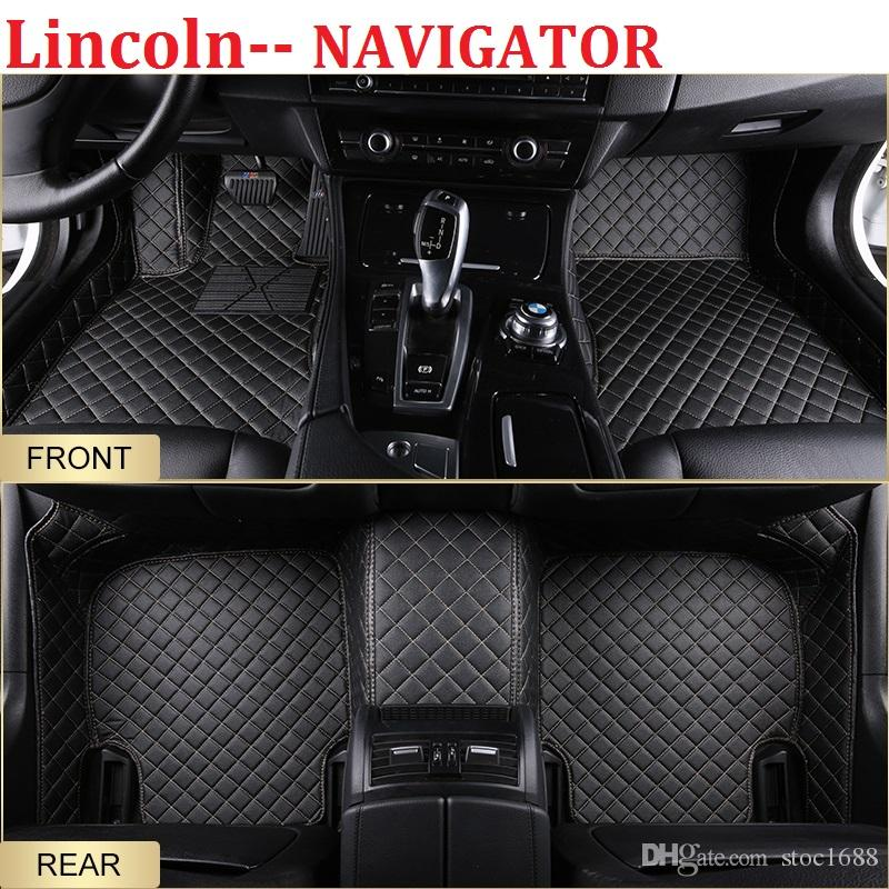 2019 Scot All Weather Leather Car Floor Mats For Lincoln Navigator