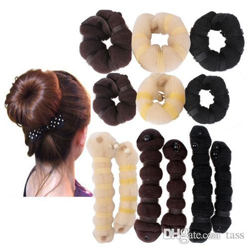 Best Selling Bun Maker 1small Largeset With Color Box