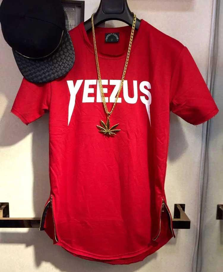 2016 Fashionable Kanye West Yeezus Hphop Zp T Shirt For Sale White ...