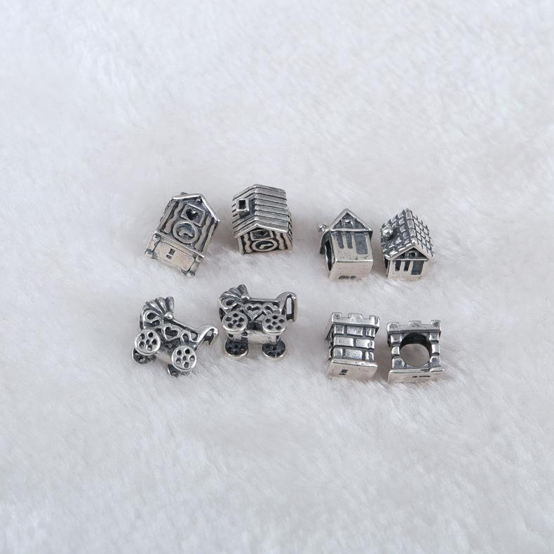 modeschmuck DIY schmuck 925 sterling silber schmuck silber Charms Mit 925 Sterling Silber Edlen Schmuck Fit Armband DIY J20533