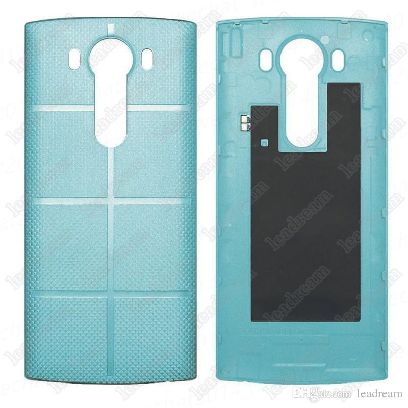 pièces de rechange de couvercle de batterie de logement de couverture arrière pour LG V10 H900 H901 VS990 libre DHL