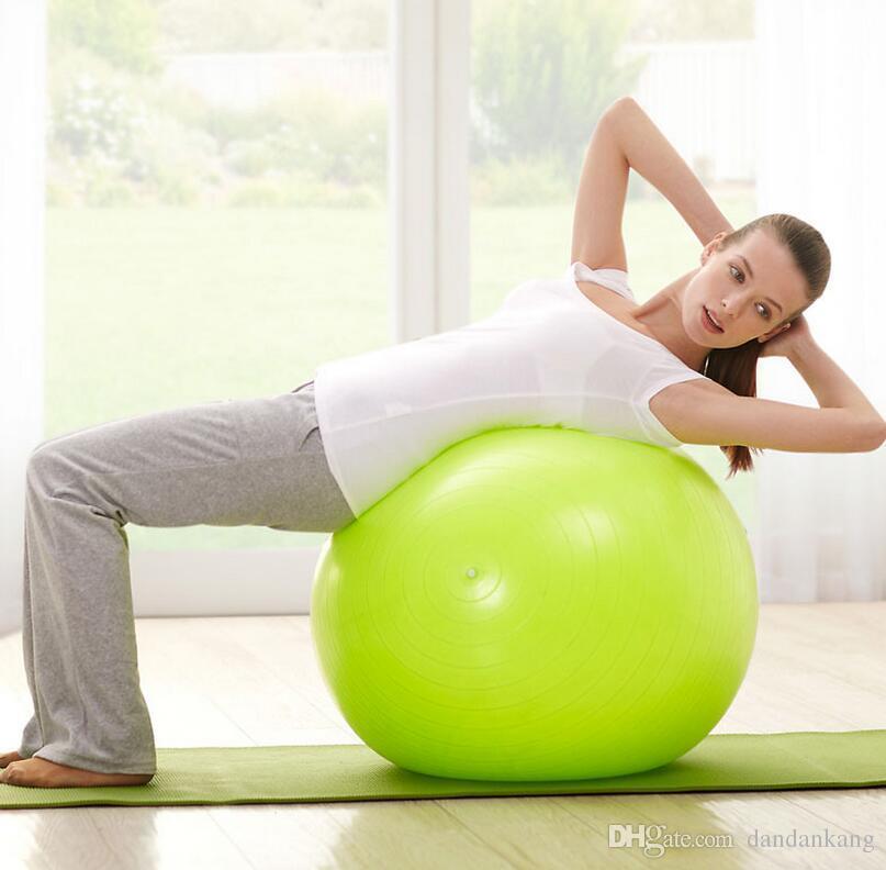 de9ee5518 Compre Ejercicio Equilibrio Yoga Gimnasio Ejercicio Fitness Ball Silim  Pilates Bolas Yoga Masaje Ball Big Kids Toy Ball A  4.88 Del Dandankang