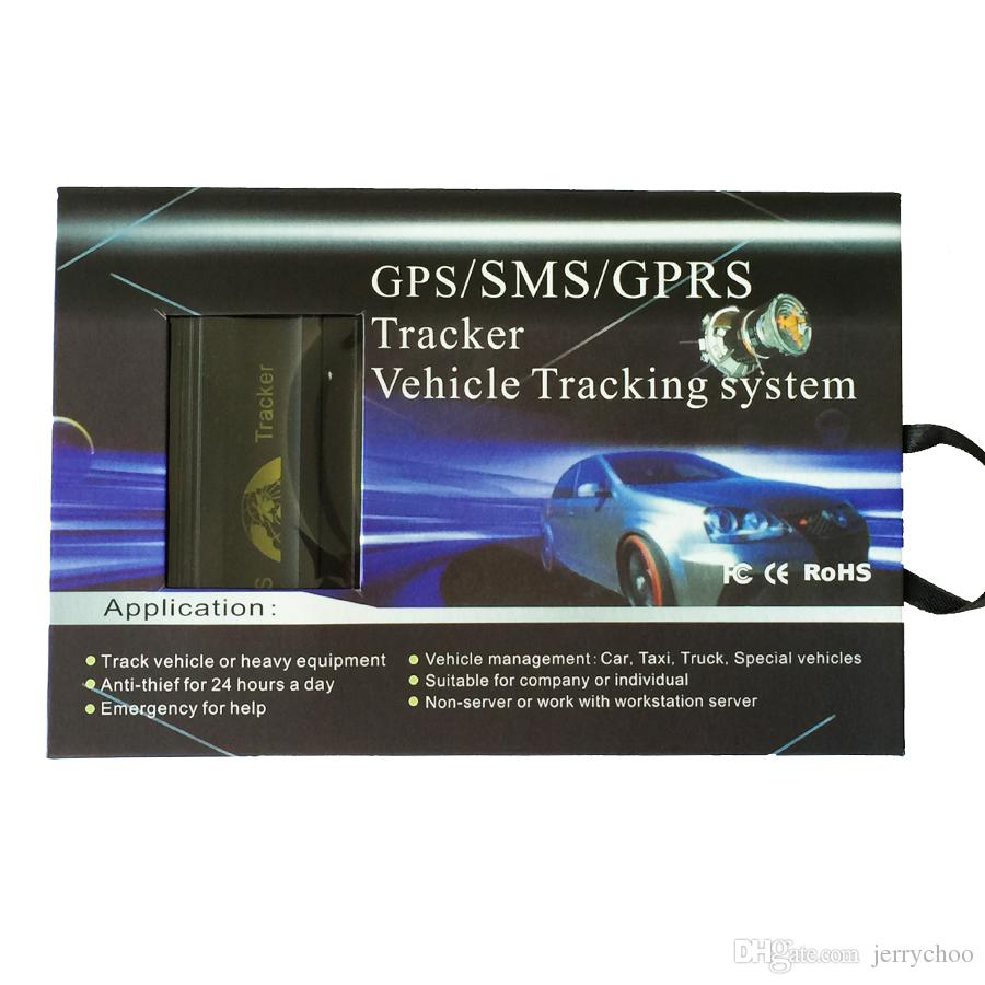 Venta al por mayor Coban GPS103B Tk103B en tiempo real Geo-Fence Alarma GSM GPS Mini Car Tracker con caja al por menor