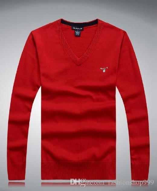 2017 neue Mode große Größe Männer Langarm Kaschmir Pullover Rundhals Pullover Größe M-XXXL. Kostenloser Versand