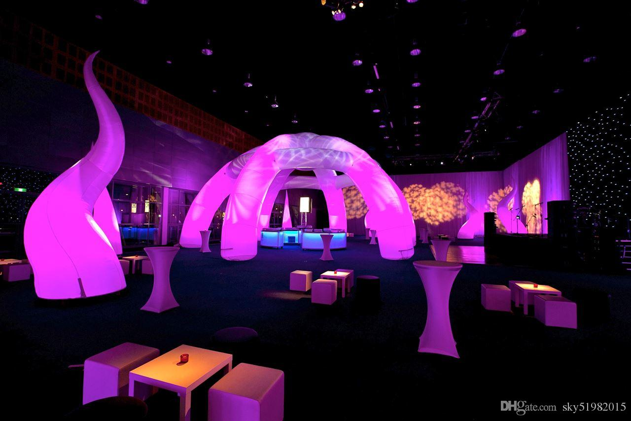 8m inflatable tunnel party for event & decoration & exhibition
