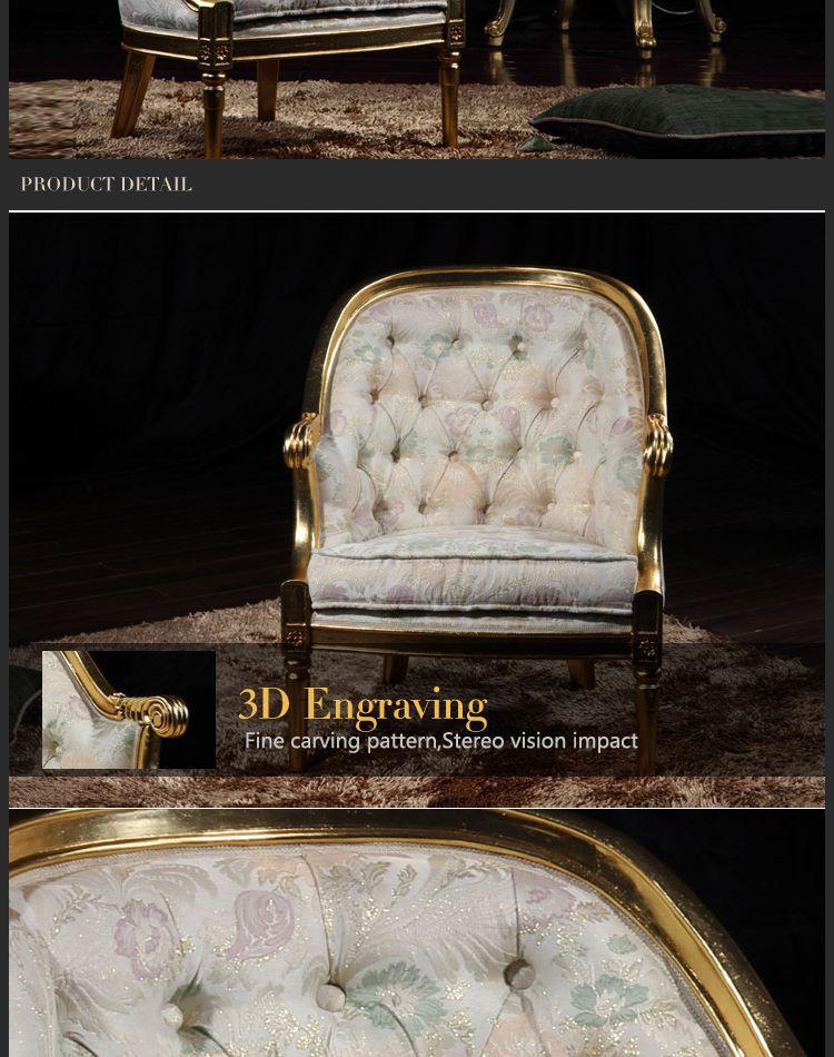 Italian classic furniture-classic living room furniture-royal furniture french style furniture manufacturer- round chair