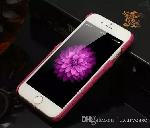 Estuche caliente para Iphone 6 6S 4,7 pulgadas Funda de cuero genuino con tapa delgada ultrafina con tapa delgada para Apple Iphone 6 6S