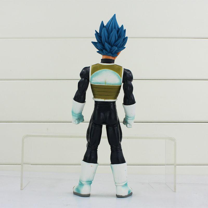 Vegeta Dragon Ball Z BANPRESTO Master Stars Piece MSP Figures Super Saiyan God SS Vegeta PVC Action Figure Toy 25cm