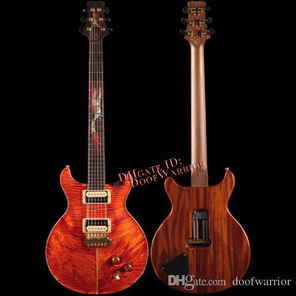 10s custom shop private stock 1222 santana ii phoenix orange electric guitar pink electric. Black Bedroom Furniture Sets. Home Design Ideas