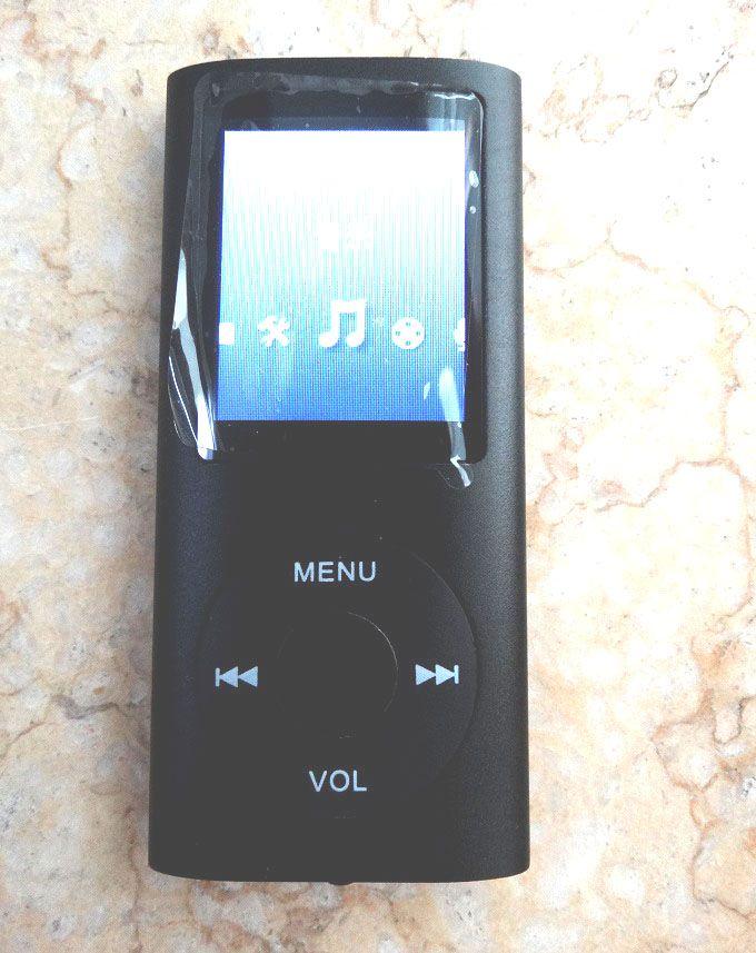1.8 inç Ekran 4th mp3 mp4 Çalar olmadan kart yuvası ile Ses Kaydedici 9 renkler USB Kabloları + Kulaklık + Perakende Kutuları A-MF