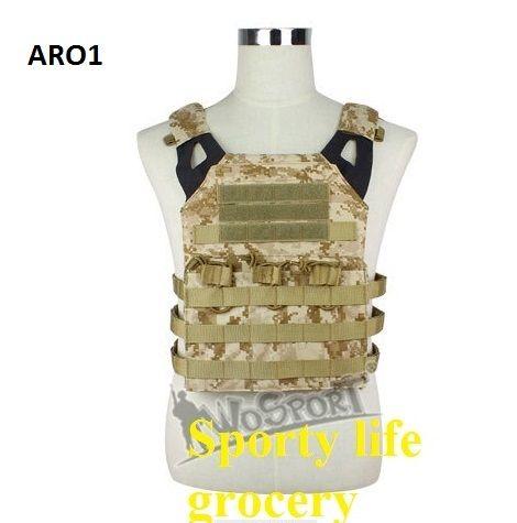 Gute Qualität Airsoft JPC Tactical Vest Vereinfachte Version Tactical Einstellbare Weste Army Combat Gear taktische Weste 12 Farben