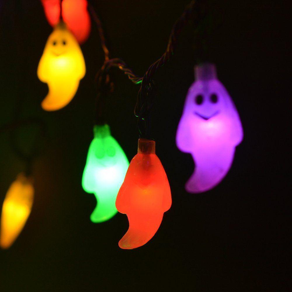 cheap hallowwen christmas solar outdoor string light 30 led lights