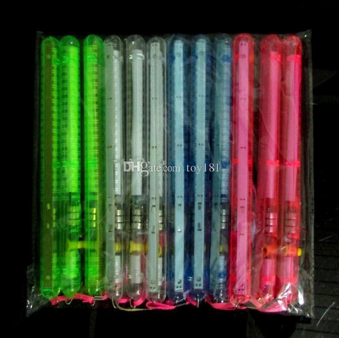 10 Brand new Multi Colorido 7 Modos LEVOU Piscando Luz Da Noite Da Lâmpada Brilho Varas varinha + cinta de Aniversário da Festa de Natal festival acampamento