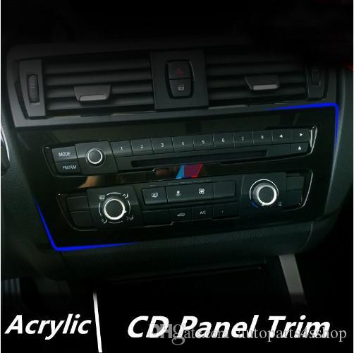 2019 Acrylic Center Control CD Panel Decorative Cover Trim