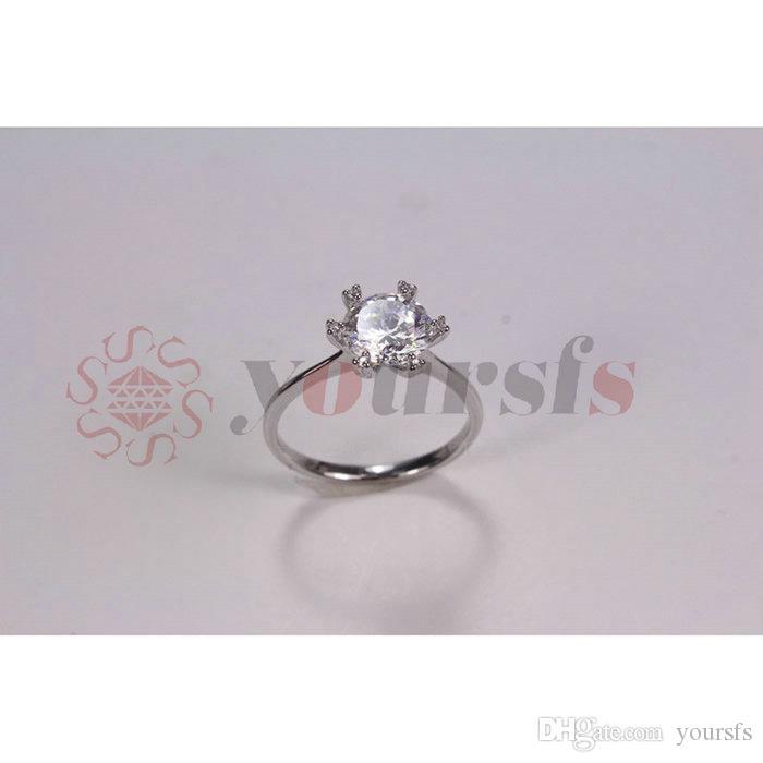 Yoursfs varumärke design ny mode elegant lyx charm zircon ring smycken guldplätering bröllop brud tillbehör till kvinnor