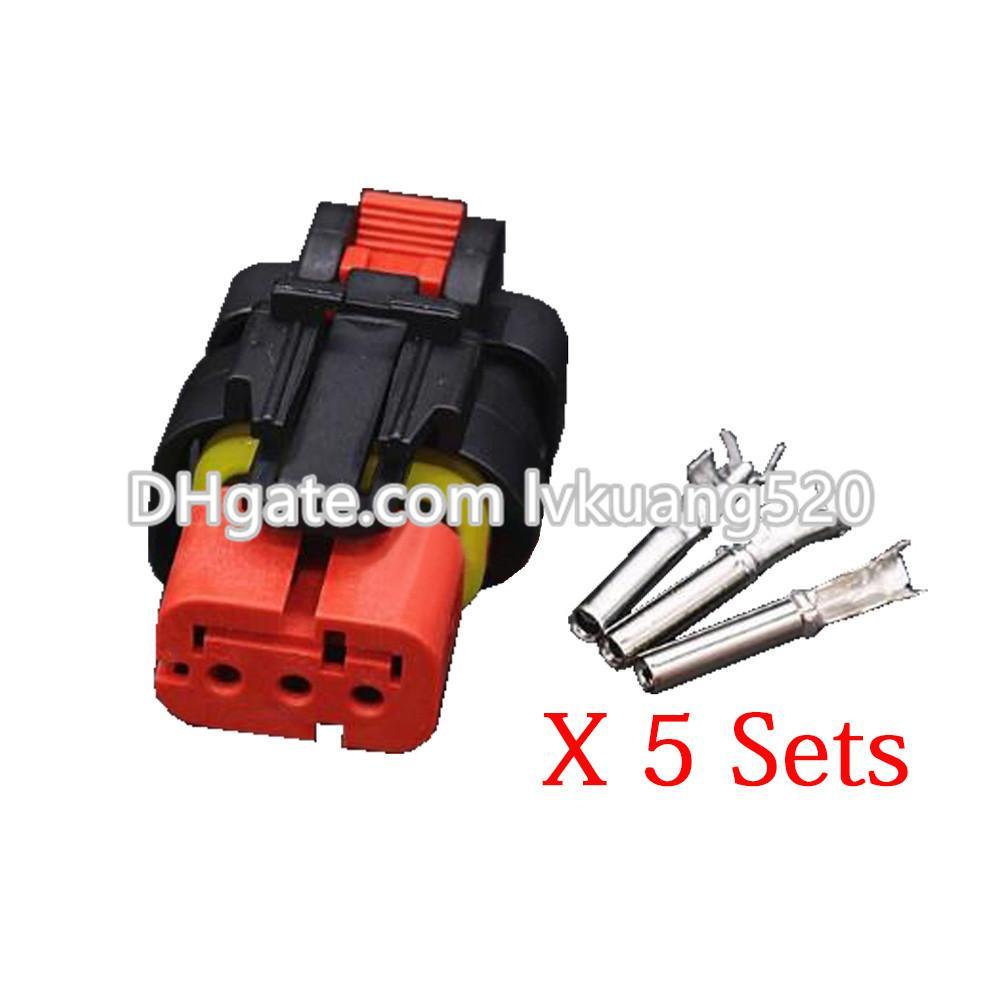 3 Pin 776523 1 Automotive Sensor Plugs Excavator Harness Connector Wiring Terminal Block With Dj7032 16 21 Online