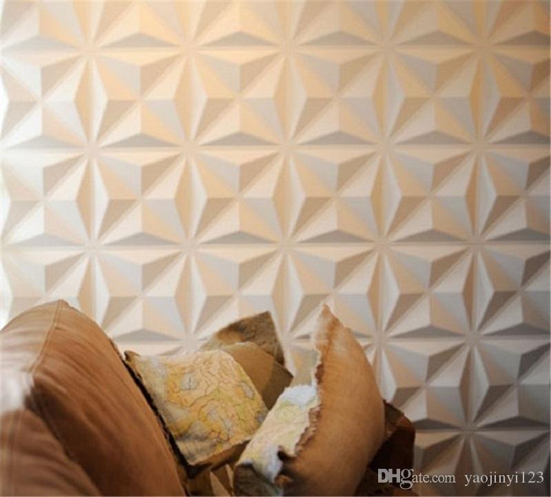 3D Effect Wall Decor Panels 3d Board Pvc Wall Panels for Shop ...