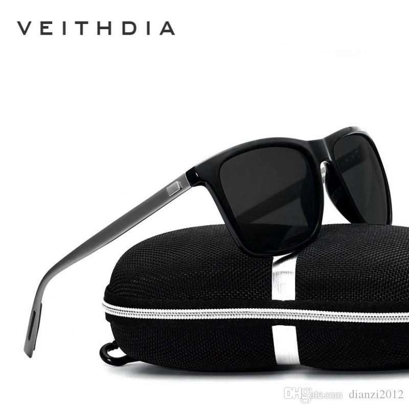 9eae3dd1d1 Brand LOGO Unisex Retro Aluminum Sunglasses Polarized Outdoor Eyewear  Accessories Goggle Driving Sun Glasses For Men Women 6108 Vintage Sunglasses  Super ...