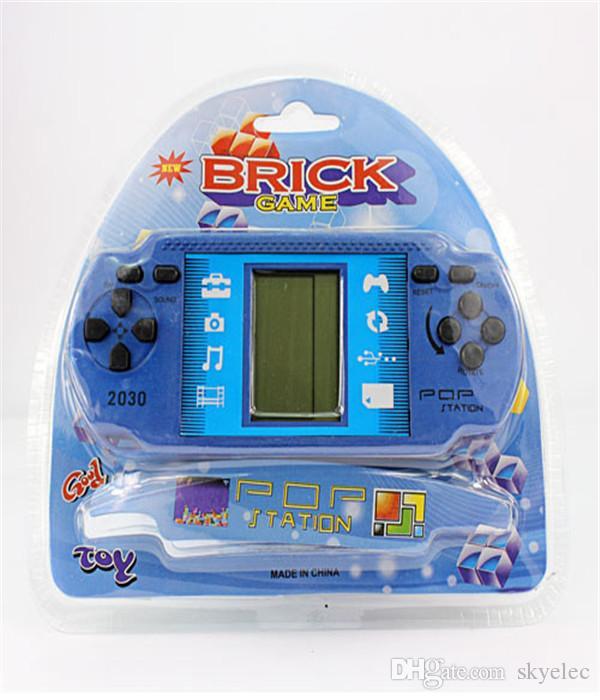 Tetris Game Console New Arrivel مشغلات الألعاب الكلاسيكية للأطفال جودة عالية للأطفال هدية عيد الميلاد التعليمية DHL Tetris المجانية الكلاسيكية