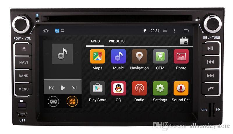 Android 7.1 Car DVD Player for Kia Sedona Optima Spectra Rondo Carens with GPS Navigation Radio Bluetooth USB WIFI Audio Video Stereo