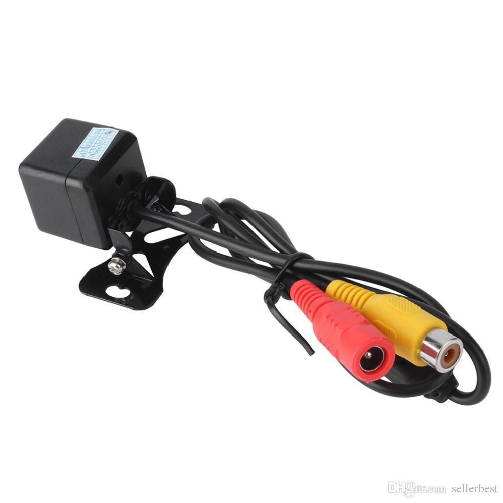 Car Rear View Camera impermeabile 170 gradi HD CCD 4 LED Night Vision Night Assistenza al parcheggio Accessori auto Car Styling