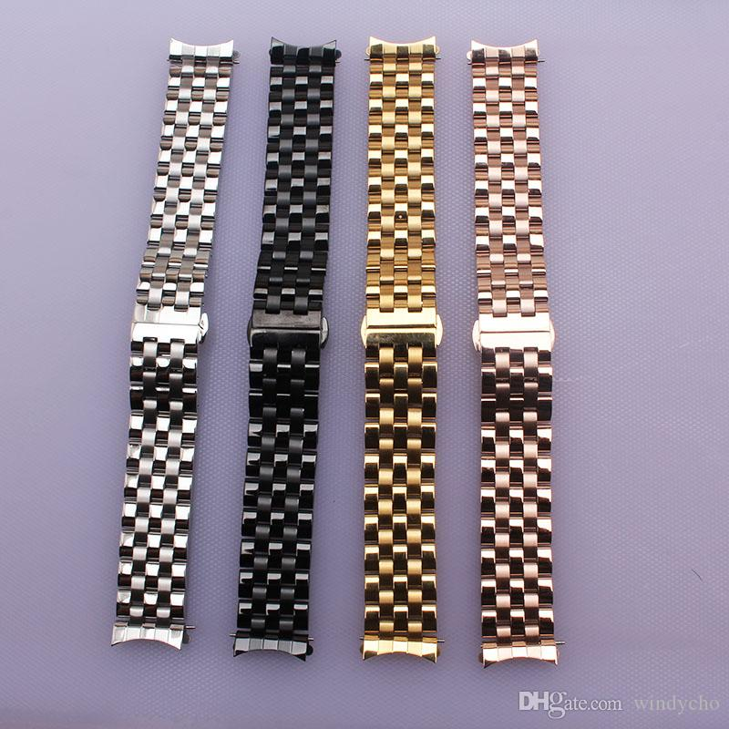 721b3c700179 16mm 18mm 20mm 22mm 22mm Fashion Watchband Straps Bracelet Men Lady ...
