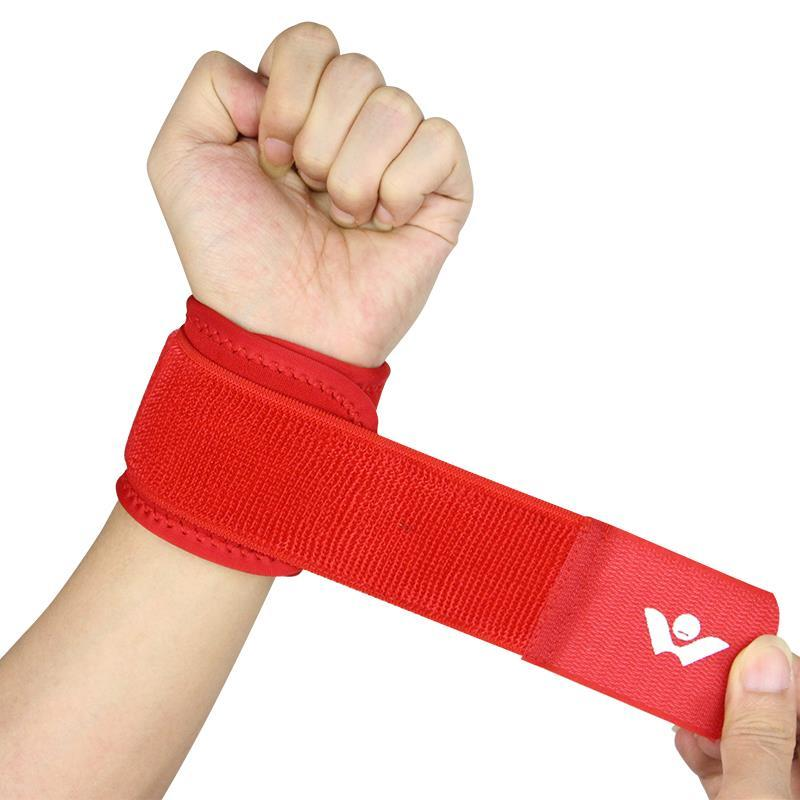 Fitness sports safety nylon strength bandage wrist support hand wrist straps sport wristbands support wrist protector