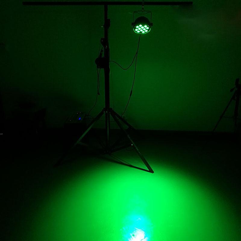 Aleación de aluminio LED Puede Par 12x15W RGBWA Luz dmx512 efecto de iluminación de la etapa Wash Light For Event, Disco Party Nightclub