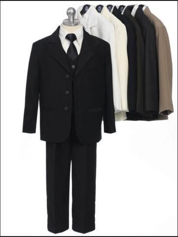 NEW-BOYS-SUITS-BOY-ملابس-KIDS-CHILDRENS-5-قطعة بدلة-الكنيسة-قران-RING-BOY