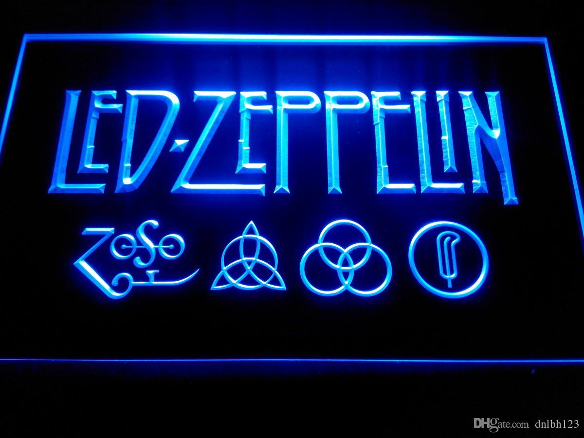 2017 Led Zeppelin Rock N Roll Punk Neon Light Signs Lf002b From Dnlbh123,  $11.06 | Dhgate.Com