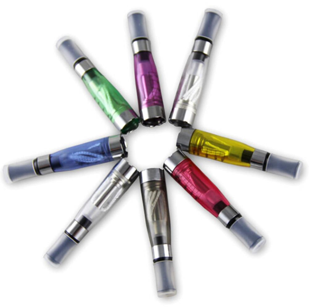 CE4 Atomiseur eGo Clearomizer 1.6 ml 2.4ohm réservoir de vapeur Cigarette électronique pour e-cig batterie 8 couleurs 4 mèche CE4 + CE5 DHL expédition